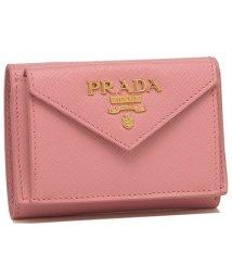 PRADA/プラダ 折財布 レディース PRADA 1MH021 QWA F0442 ピンク/503286573