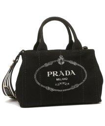 PRADA/プラダ トートバッグ レディース PRADA 1BG439 ZKI ROO F0N12 ブラック ホワイト/503286847