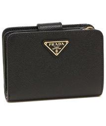 PRADA/プラダ 折財布 レディース PRADA 1ML018 QHH F0002 ブラック/503286876