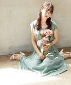 PROPORTION BODY DRESSING/釦デザインフレアワンピース/503291099