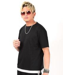 LUXSTYLE/2ラインセットアップ/Tシャツ ショートパンツ メンズ セットアップ サイドライン 無地/503292861