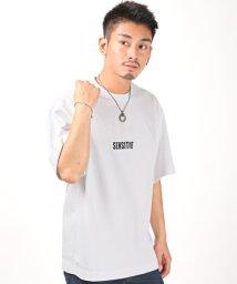 LUXSTYLE/絵画バックプリントBIG半袖Tシャツ/Tシャツ メンズ 半袖 5分袖 クルーネック 英文字/503292867