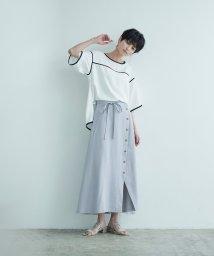 miette/フロントボタンデザインラップスカート/503294825