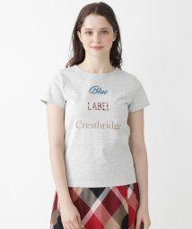 BLUE LABEL CRESTBRIDGE/【店舗限定】20/-天竺ブランドロゴTシャツ/503295133
