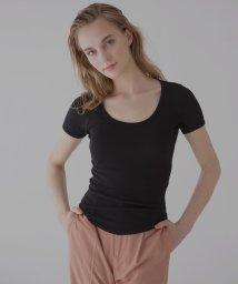 MIELIINVARIANT/ラウンドカットTシャツ/503295529