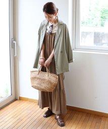 and Me.../【X-5】ティアード キャミソール マキシ ワンピース/503295745