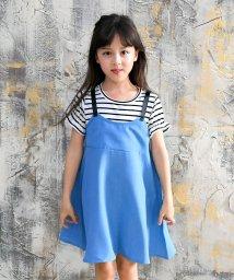 子供服Bee/重ね着風半袖ワンピース/503295768