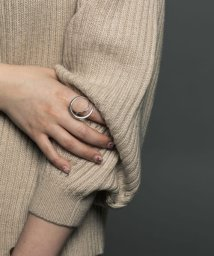 URBAN RESEARCH/decor(silver) Double Ring/503300004
