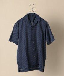 SHIPS MEN/SC: ジャージー ジャガード オープンカラー シャツ/503300588