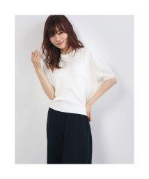 Rename/リネーム Rename ドルマン風 太リブカットソー (ホワイト)/503300686