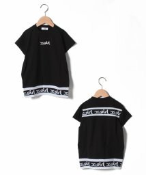X-girl Stages/裾ロゴテープTシャツワンピース/503264557