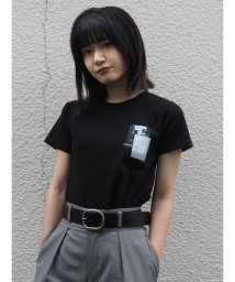 EMODA/グラフィックレイヤーミニマルTシャツ/503301090