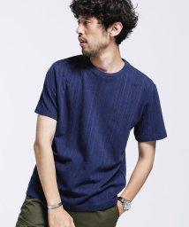 nano・universe/フレキシブルリネンケーブルTシャツ/503166567