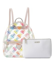 GUESS/ゲス GUESS TASH Clear Backpack (RAINBOW)/503294779