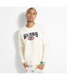 GUESS/ゲス GUESS GUESS x J BALVIN Logo Crew-Neck Swaet (OATMEAL COLORES)/503294786