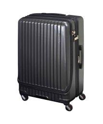 FREQUENTER/フリクエンター FREQUENTER スーツケース キャリーケース キャリーバッグ マリエ 86-98L メンズ 拡張 ハード MALIE ガンメタル アイボリ/503016369
