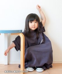 coen/【coen キッズ / ジュニア】アシンメトリーロゴカットソーワンピース/503203278