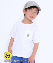coen/【coen キッズ / ジュニア】サマーコーエンベアポケットTシャツ/503282298