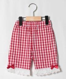 ShirleyTemple/裾レースリボン付き五分丈パンツ(100~120cm)/503282969