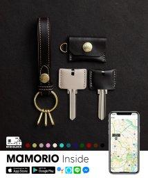 LIFE POCKET/紛失防止タグ MAMORIO搭載 ライフポケット Key Ring スマート キーリング キーケース キーホルダー KR001/503285497