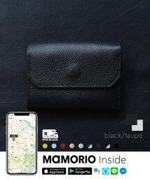 LIFE POCKET/紛失防止タグ MAMORIO搭載 ライフポケット Mini Wallet ミニ財布 財布 スマートウォレット WL001 スキミング防止 RFID付き/503285498