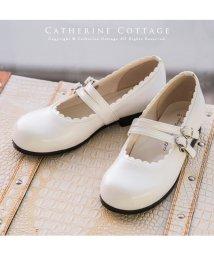Catherine Cottage/日本製 ダブルストラップ フォーマルシューズ/503296984