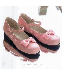 Catherine Cottage/【日本製】はしこリボンのシューズ/503296996
