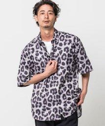 CavariA/CavariA【キャバリア】レオパードパターンプリントビッグシャツ/503302213