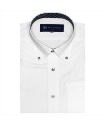 BRICKHOUSE/ワイシャツ 半袖 形態安定 ポケクロ ボタンダウン Just Style メンズ/503302264