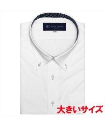 BRICKHOUSE/ワイシャツ 半袖 形態安定 ボタンダウン 透け防止 3L・4L メンズ/503302268