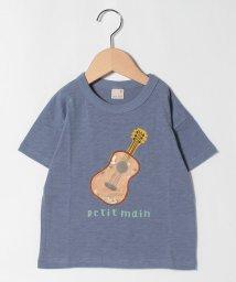 petit main/南国シアーアップリケTシャツ/503284601