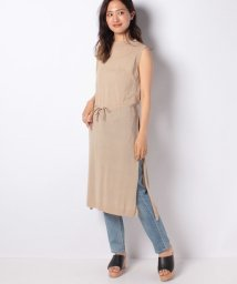 MARcourt/cotton eyelet long vest/503294846