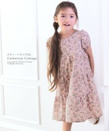 Catherine Cottage/ナチュラルティアード半袖ワンピース (110-150cm)/503297649