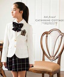 Catherine Cottage/チェックスカート&ブレザー5点セット/503298090