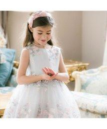 Catherine Cottage/花刺繍チュールレースドレス (120-160cm)/503299765
