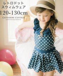 Catherine Cottage/レトロドット ワンピーススイムウェア /503299864
