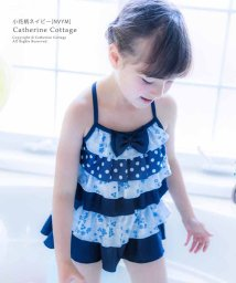 Catherine Cottage/セパレート フリルキャミソールスイムウェア/503299871