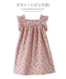 Catherine Cottage/ヴィンテージ風小花柄プリントワンピース /503299900