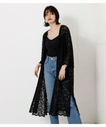 AZUL by moussy/SCALLOP LACE LONG GOWN/503303690