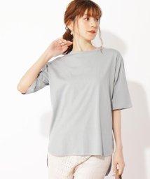 grove/【S-LL】UV/接触冷感ひんやりコットン混BIGTシャツ/503304182