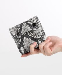 sankyoshokai/ダイヤモンドパイソンレザーミニ財布/503304624