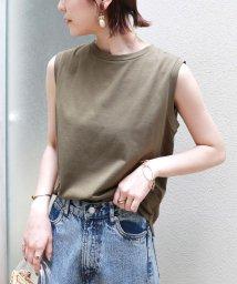and Me.../USAコットンノースリーブTシャツ/503309903