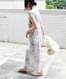 and Me.../マーブル柄キャミワンピース/503309907
