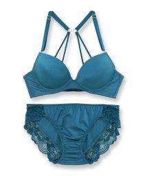 fran de lingerie/Simply Luster シンプリーラスター ブラ&ショーツセット B65-G75カップ/503275950