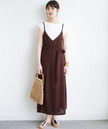 haco!/合わせて着るだけで今っぽかわいい シンプルTシャツ&カシュクールキャミワンピースセット/503287412