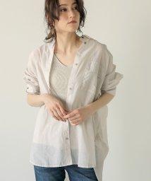 Bou Jeloud/【透け感が今年大本命!】シアーBIGシャツ/503291368