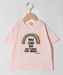 petit main/速乾 虹×ロゴTシャツ/503291395