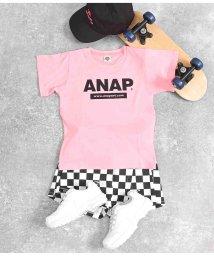 ANAP KIDS/アドレスロゴTシャツ/503310963