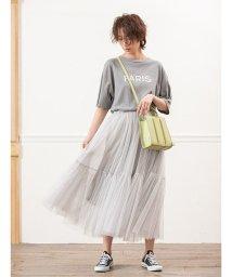 fifth/チュールデザインフレアスカート/503313552