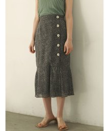 LAGUNAMOON/フラワーパターンマーメイドスカート/503120342